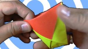 оригами чаша