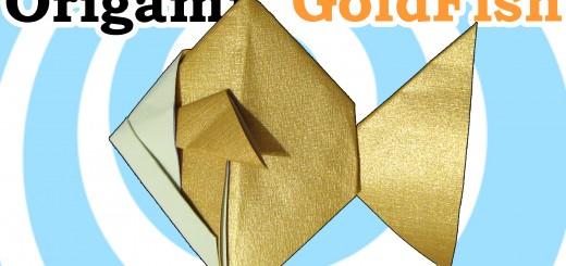 оригами златна рибка