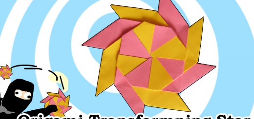 оригами звездичка