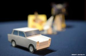 trabant papercraft