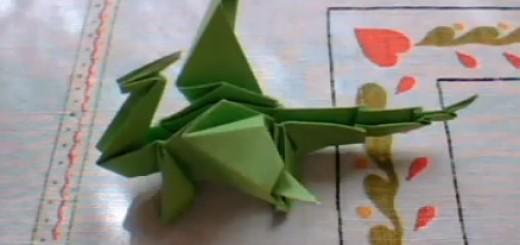 origami drakon