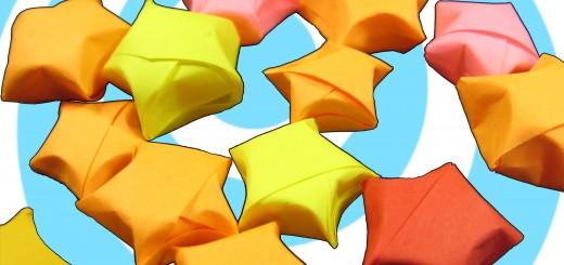 оригами малка звезда