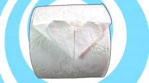 оригами от тоалетна хартия