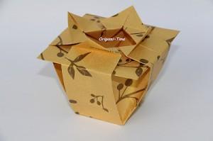 origami vaza