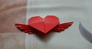 origami krilato syrce