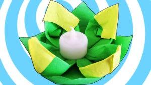 origami vodna lilia