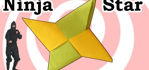 нинджа звезда