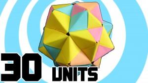 модуларно оригами 30 части