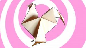 оригами петел