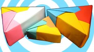 оригами кутия