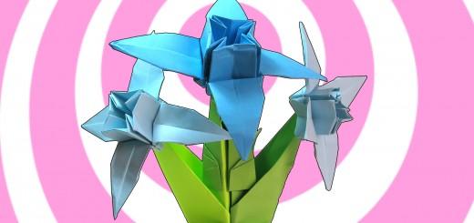 оригами еделвайс