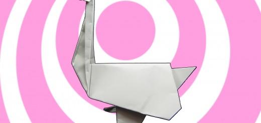 оригами гъска