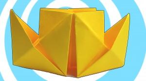 оригами параход