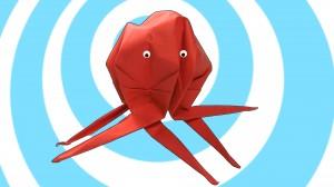 Оригами Октопод