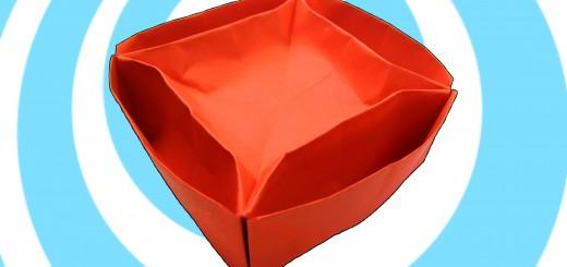 оригами купичка