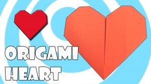 Оригами Сърце