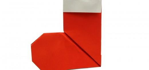 Оригами чорап