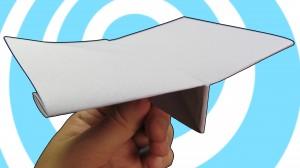 лесен оригами самолет