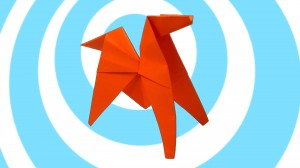 оригами конче