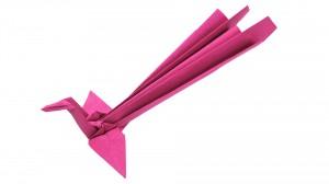 Оригами феникс