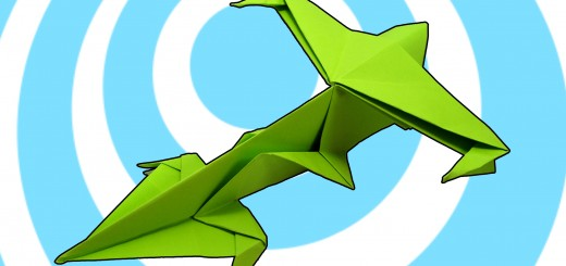 Оригами космически кораб