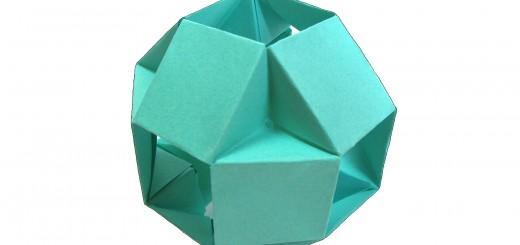 модулна оригами топка