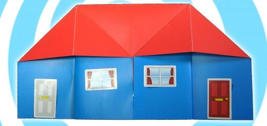 оригами къща