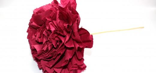лесно цвете от салфетки