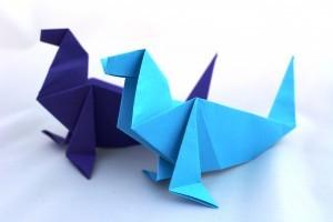 оригами тюлен