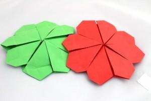 Четирилисна детелина оригами