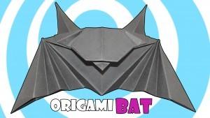 Оригами прилеп