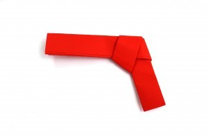 оригами пистолет