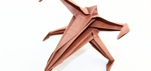 оригами самолет от междузвезни войни