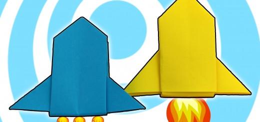 Оригами ракета