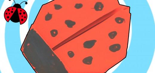 оригами калинка