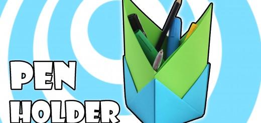 Оригами моливник